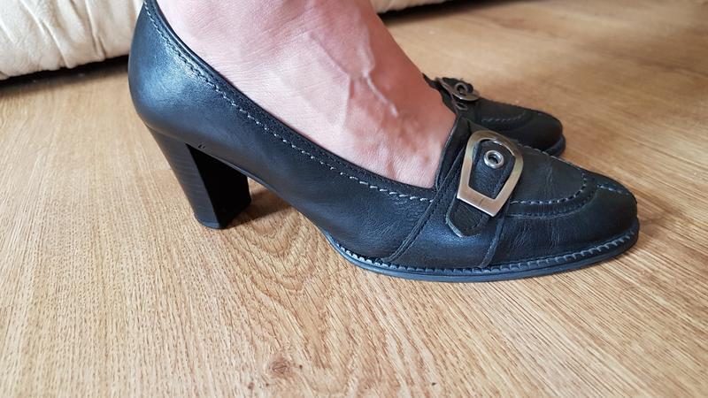 Кожаные туфли (0310)