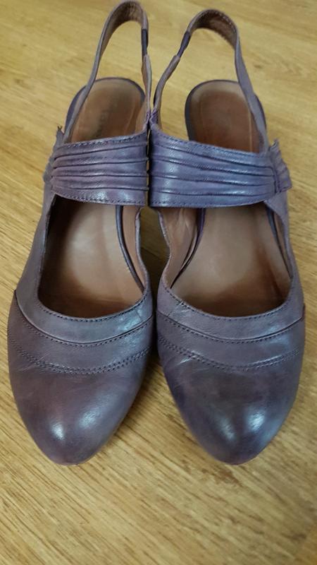Кожаные туфли (0317)