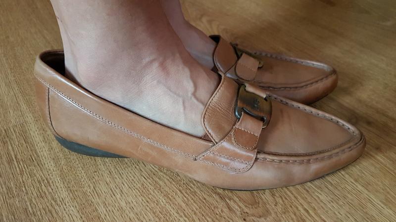 Кожаные туфли (0316)
