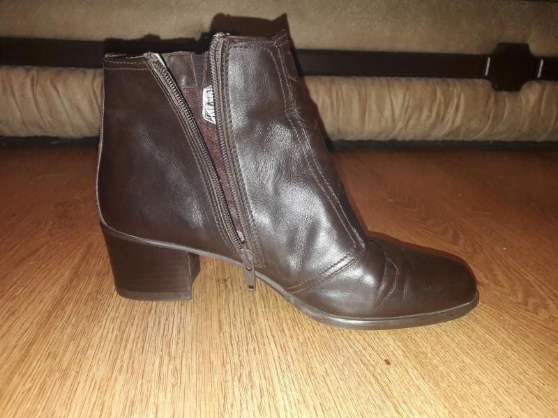 Кожаные ботинки (0330)