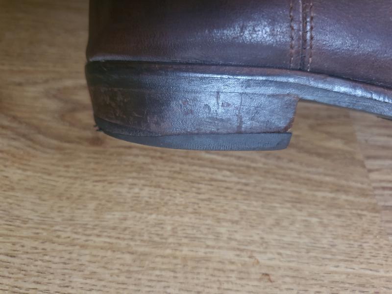 Кожаные сапоги( 0380) - Фото 8