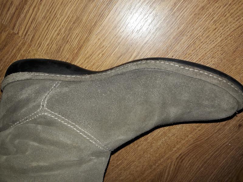 Замшевые сапоги (0052) - Фото 5