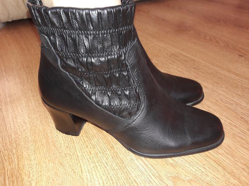 Кожаные ботинки (0006)
