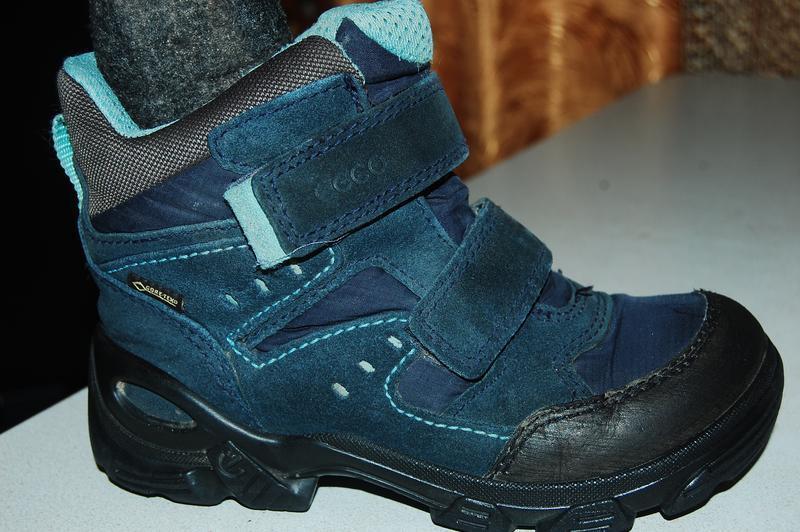 Ecco зимние ботинки ессо 28 размер
