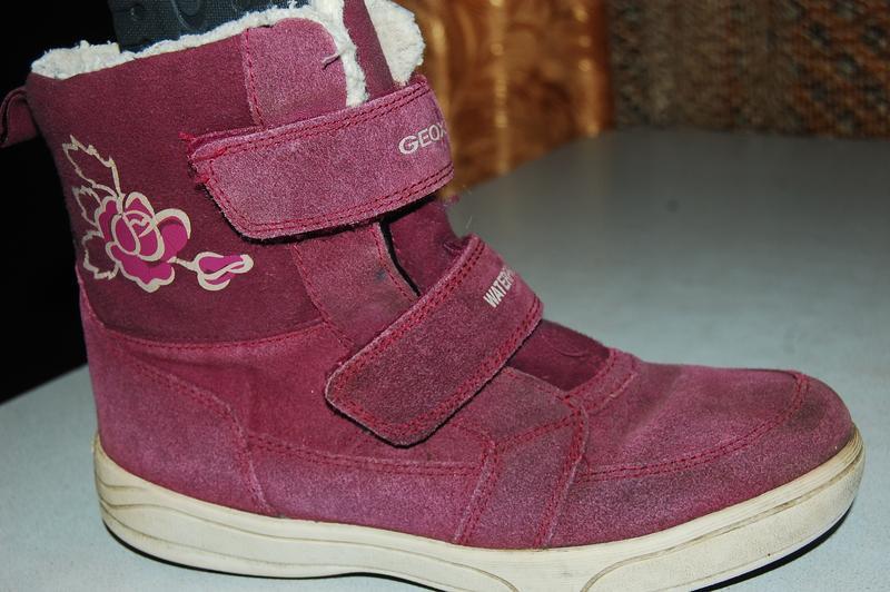 Geox зимние ботинки 35 р