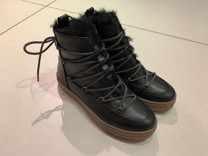 Тёплые зимние ботинки сапоги на меху reserved есть размеры