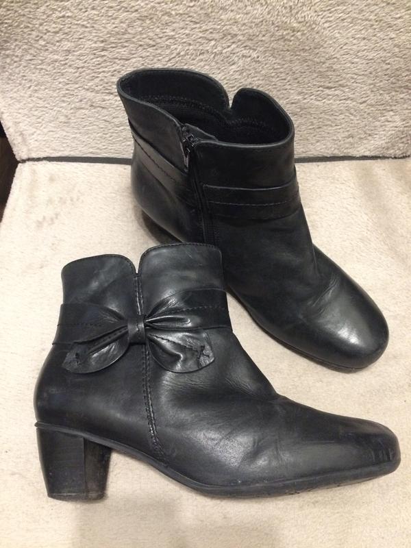 Hotter кожаные ботинки ботильоны сапожки