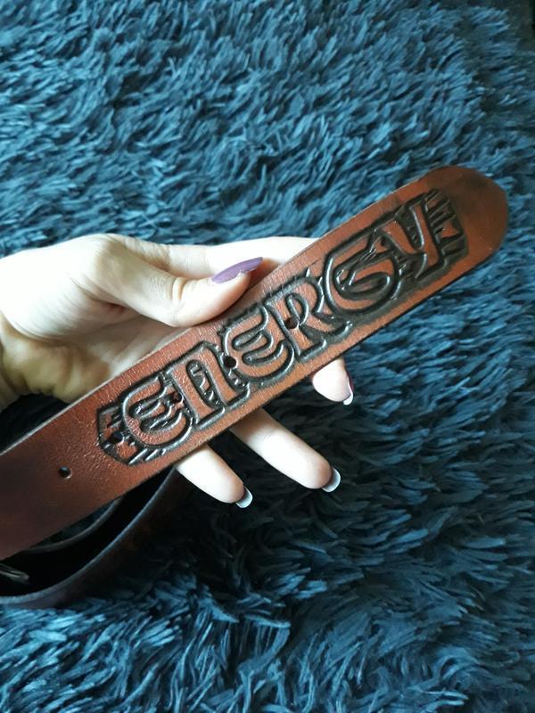 Кожаный ремень energy - Фото 5