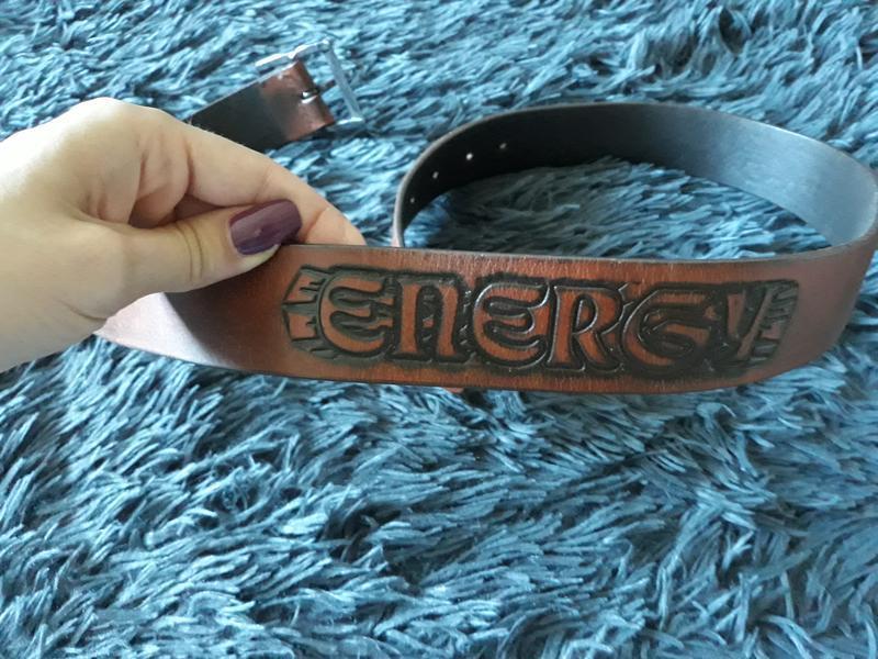 Кожаный ремень energy - Фото 7