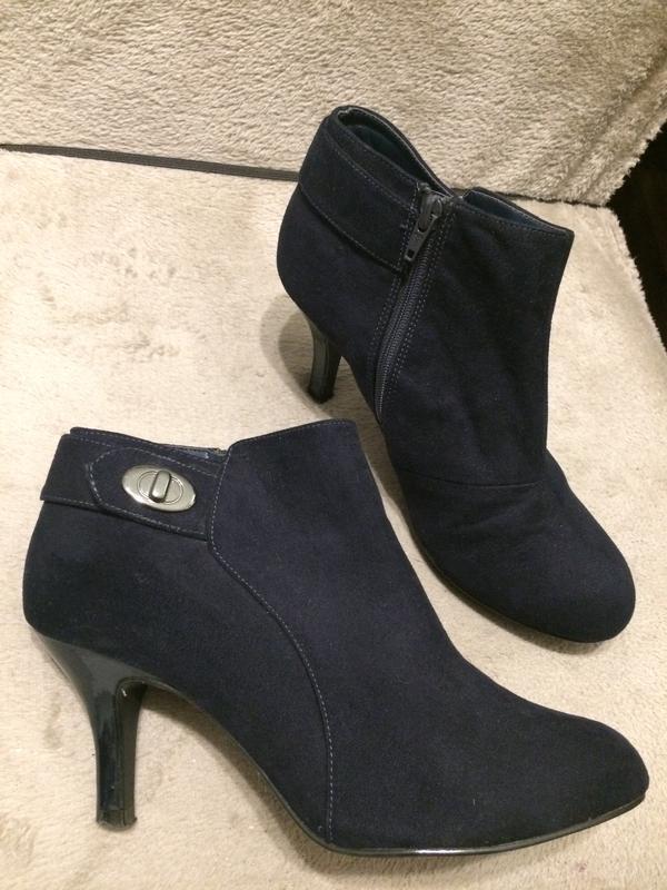 M&s marks & spencer insolia замшевые ботинки ботильоны