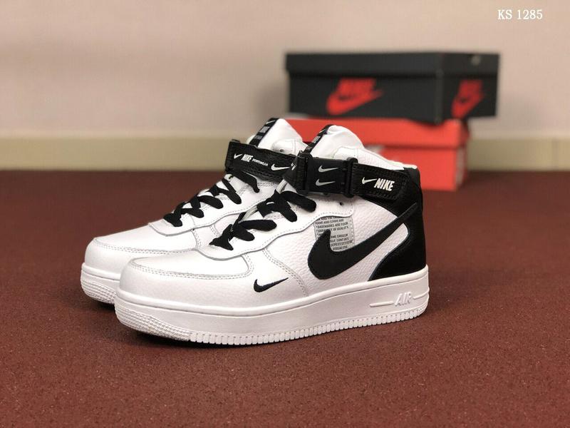 Кроссовки Nike Air Force зимние / ботинки / найк