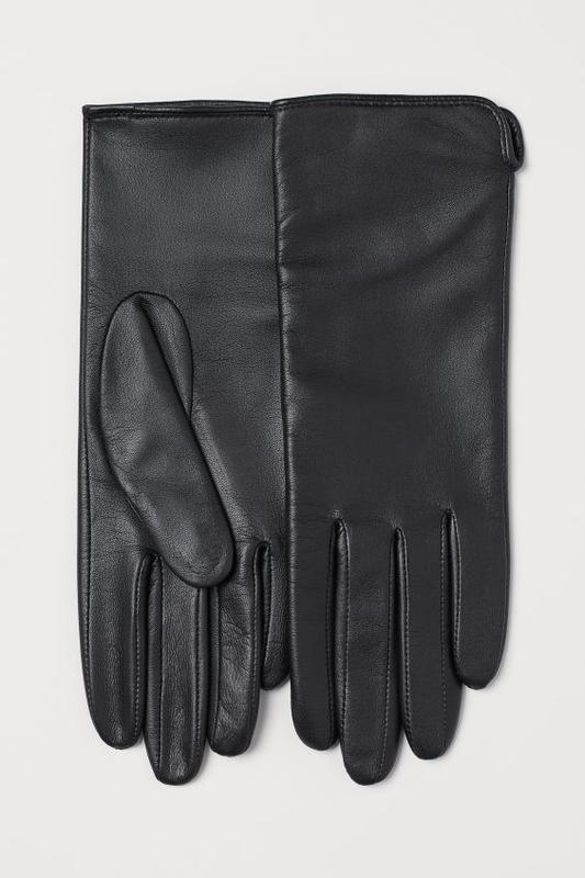 Перчатки натуральная кожа h&m р-р  s