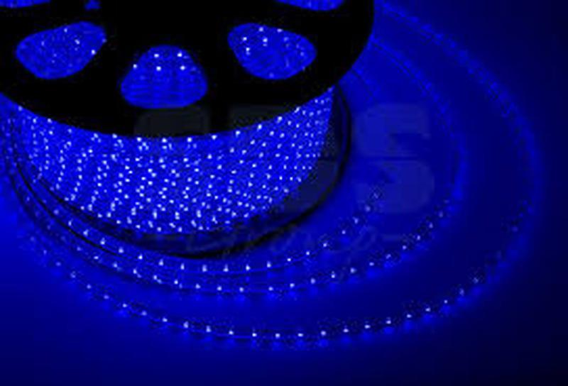 Светодиодная лента SMD 2835 120 ip67 220V Синий