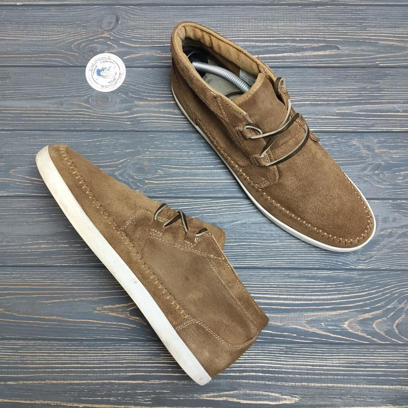 Замшевые ботинки river island оригинал!