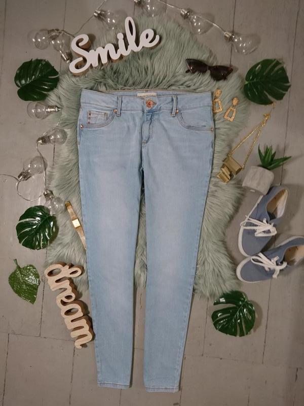 Базовые светлые джинсы скини №95max