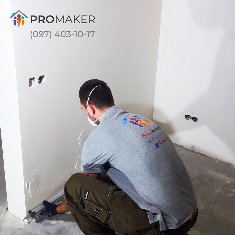 Машинная шпаклевка стен и потолка от 90 грн. м² | Гарантия 10 лет - Фото 7