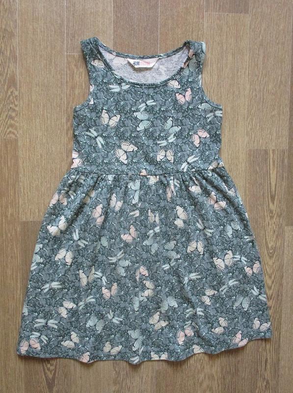 Платье в бабочках