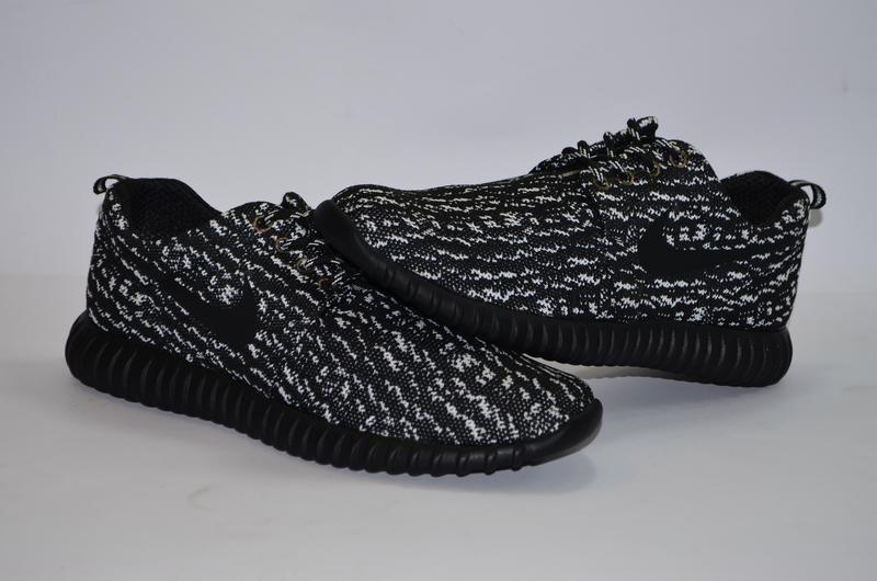 Мужские кроссовки черного цвета, текстиль