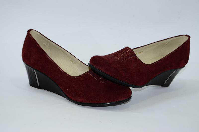 Женские замшевые туфли, 37 размер