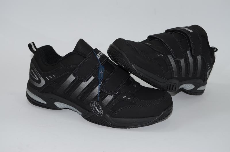 Мужские кроссовки, кожа