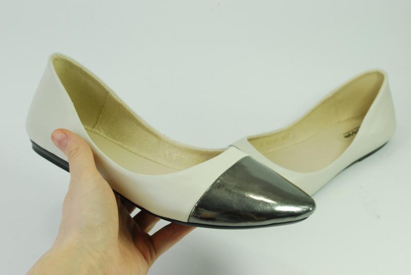 Женские кожаные балетки,распродажа - Фото 5