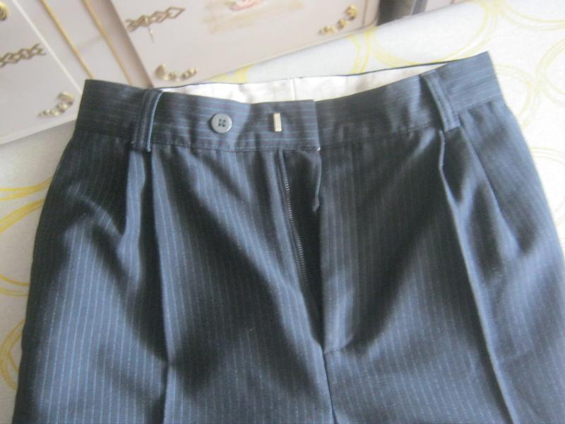 Школьные брюки, классические брюки для мальчика рост 145-160см