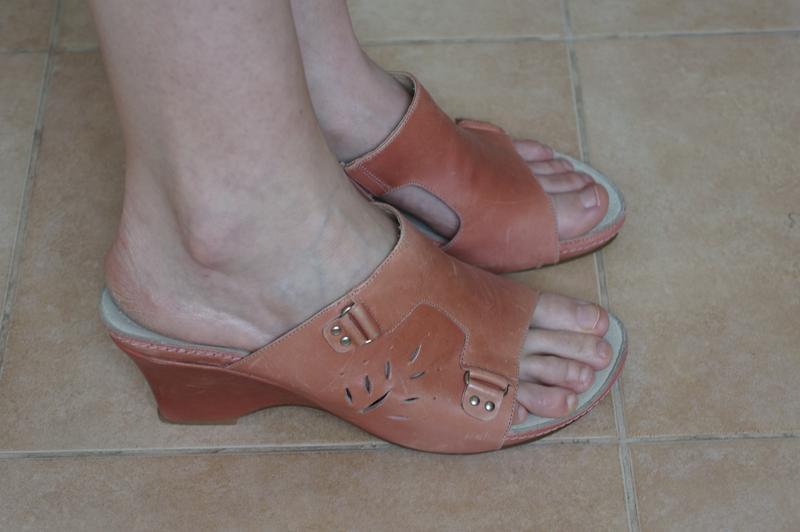 Босоножки на танкетке шлепанцы m.shoes новые в родной коробке - Фото 3