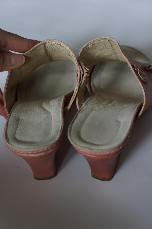 Босоножки на танкетке шлепанцы m.shoes новые в родной коробке - Фото 4