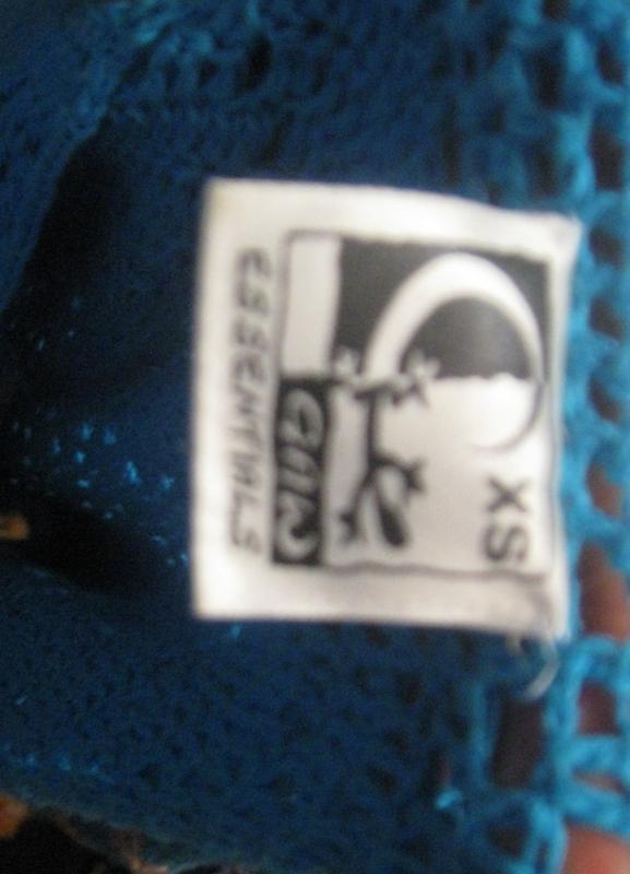 Платье женское миди голубое вязаное.46р-р. - Фото 3