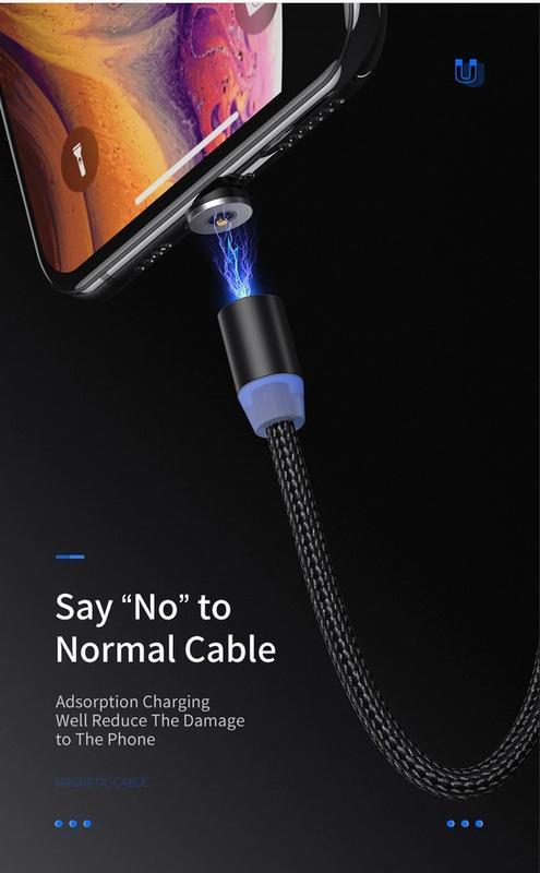 Магнитный кабель YKZ Micro USB