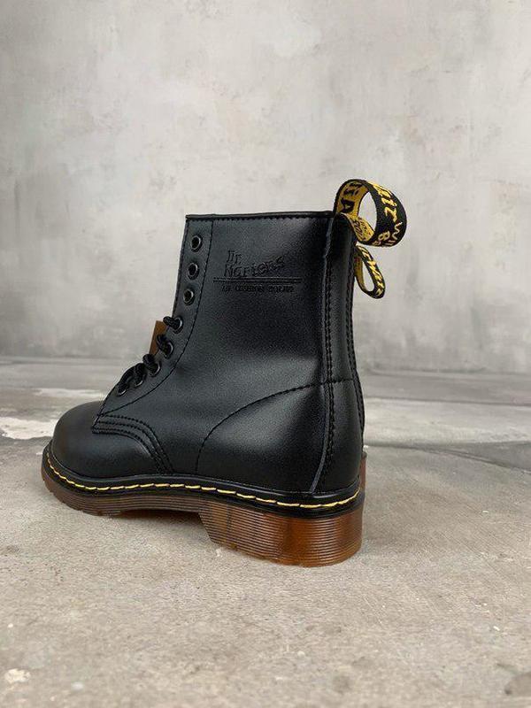 Шикарные женские зимние ботинки dr. martens 1460 black fur 😍 (... - Фото 2