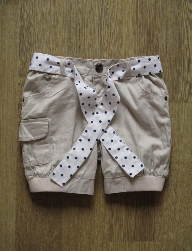 Стильные шорты с поясом