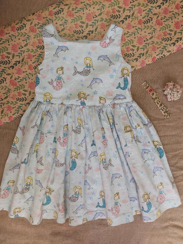 Сарафан платье для девочки 4-5 лет