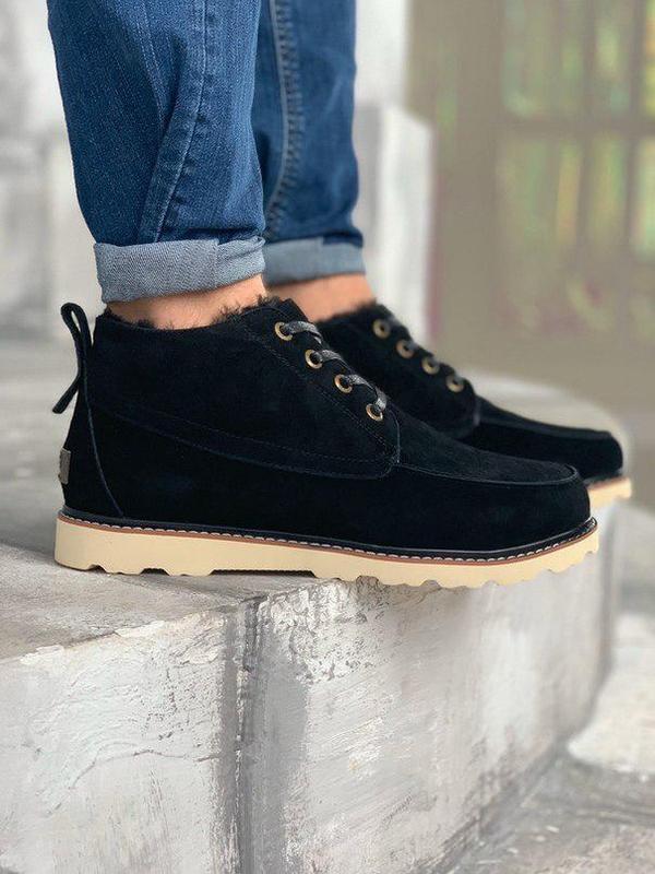 Ugg david beckham boots! мужские замшевые зимние угги/ ботинки...