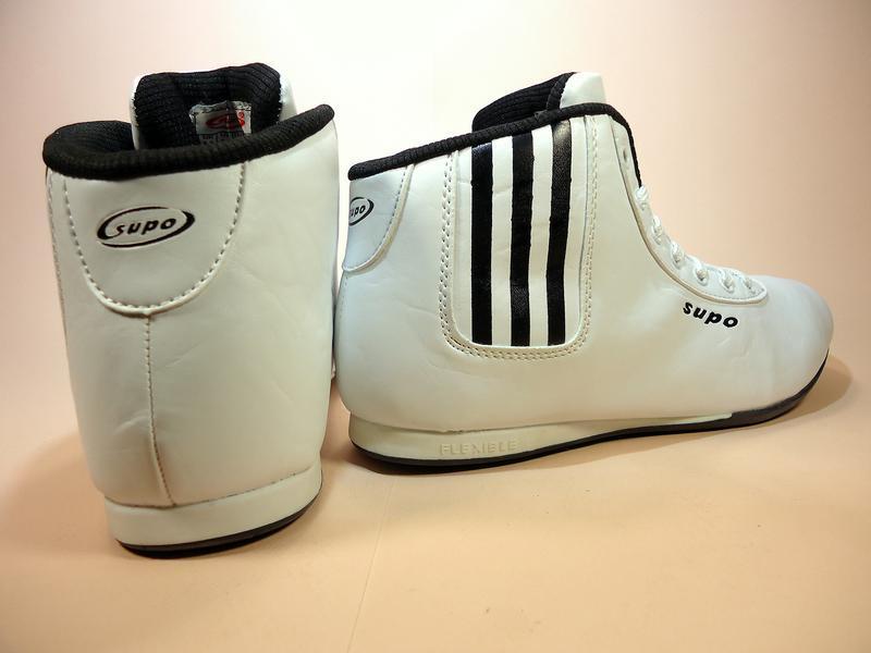 Кроссовки женские, высокие, белые, для бега и тренировок. разм... - Фото 4