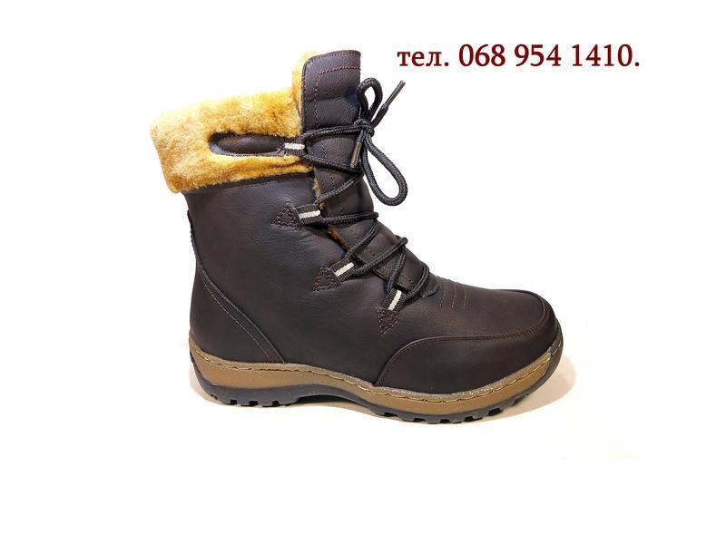 Ботинки женские, зимние, комфортные, модные и теплые. размер 3...