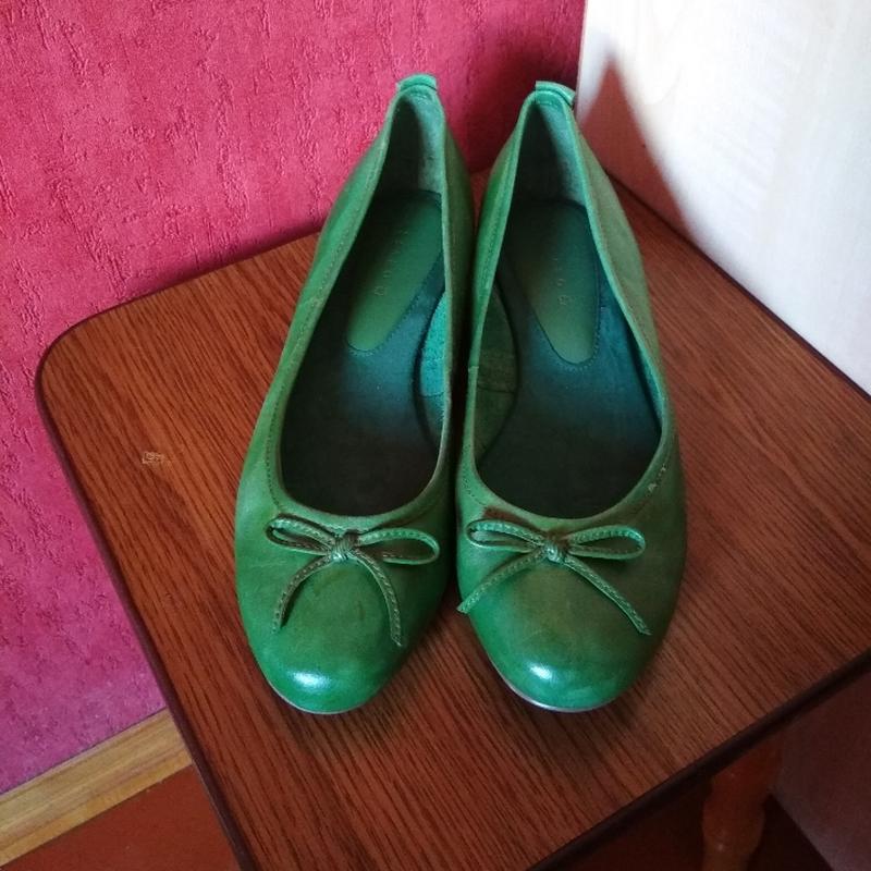 Новые кожаные туфли pesaro