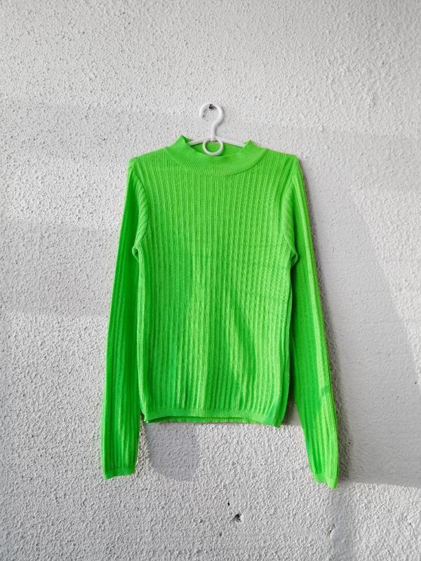 Неоновый свитер, свитшот, кофта