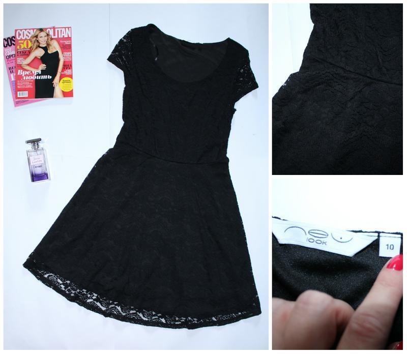 Красивое гипюровое платье new look
