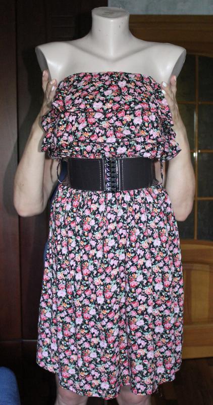 Платье с поясом new look