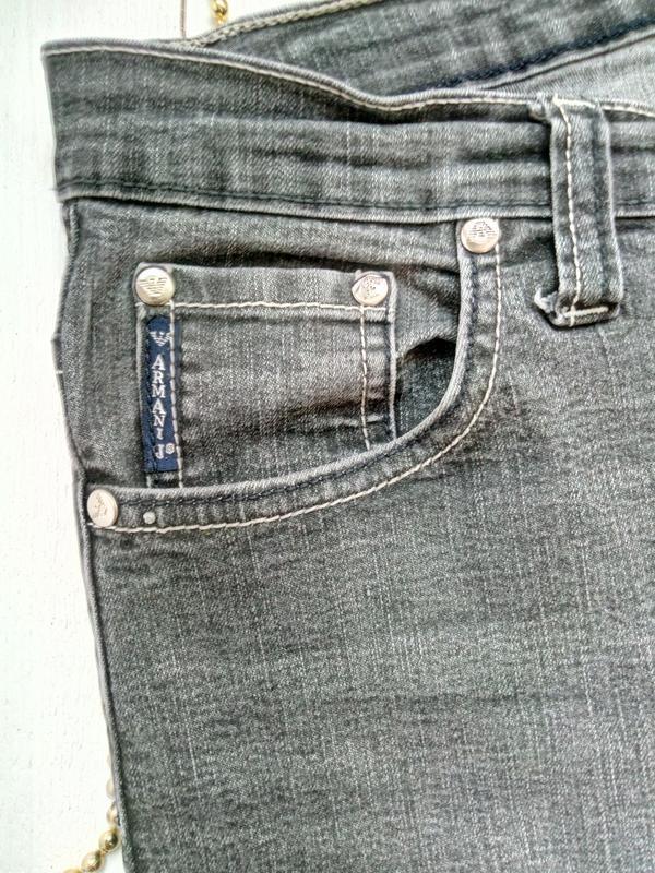 Джинсы armany jeans - Фото 4
