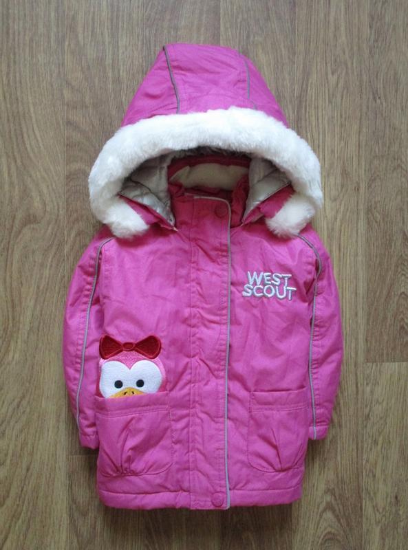 Яркаяя розовая курточка