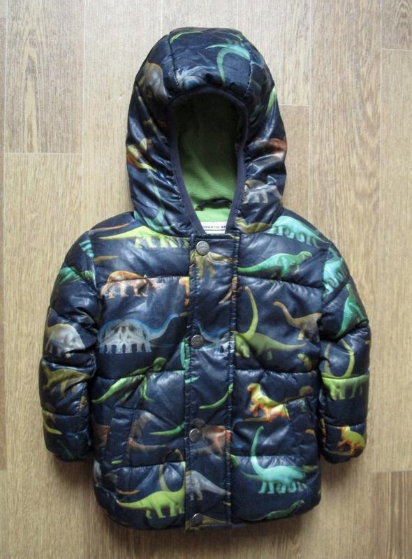 Красивейшая курточка с динозавриками
