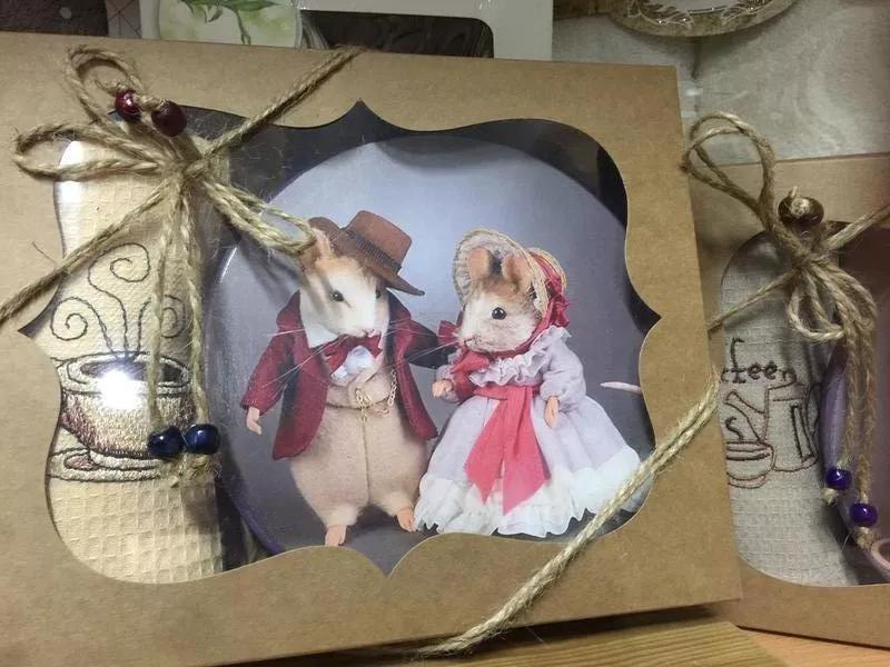 Набор подарочный: доска для нарезки сыра и мягкое полотенце 35х55
