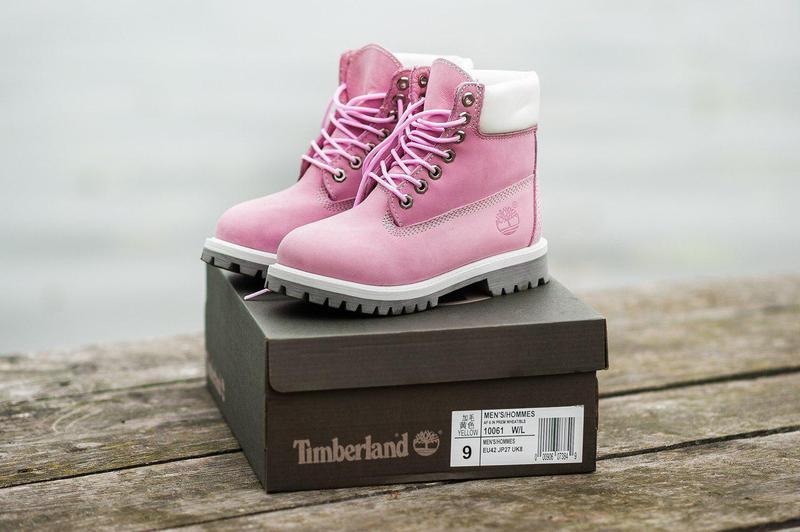 Акция!!! шикарные женские зимние ботинки timberland pink fur 😍...