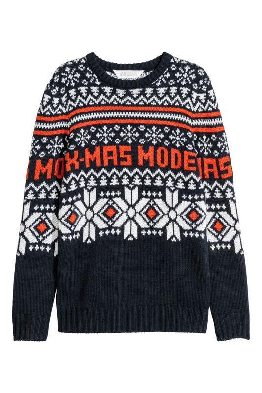 Новогодний свитерок h&m.  12-14 лет