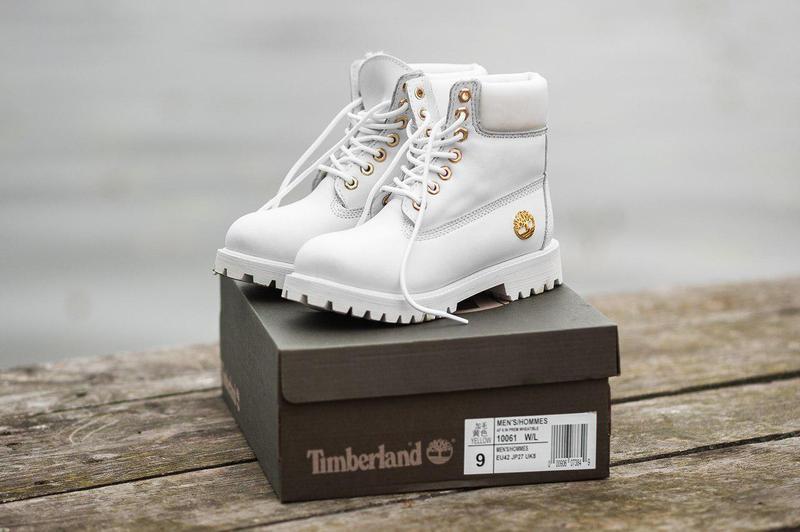 Акция!!! шикарные женские зимние ботинки timberland white fur ...