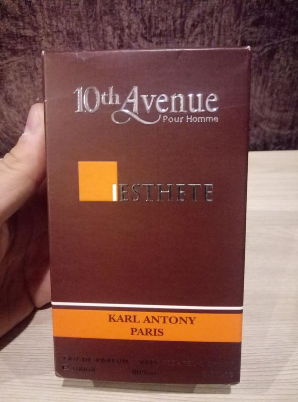 Парфюмированная вода esthete 10-th avenue karl antony (франция)