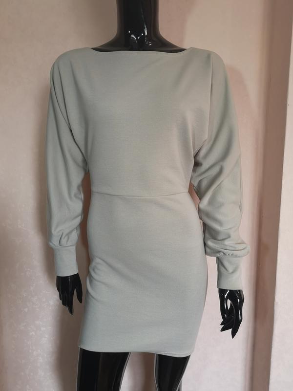 Трикотажное платье miss london uk 8 eur 36 наш 42 s
