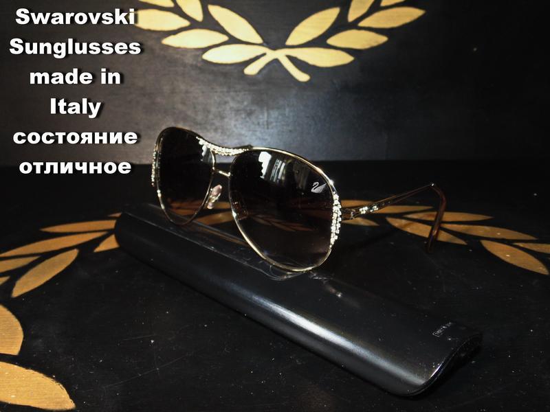 Swarovski очки солнцезащитные